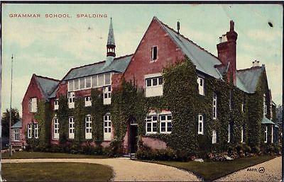 Memories of Spalding Grammar School – 1926 to 1934