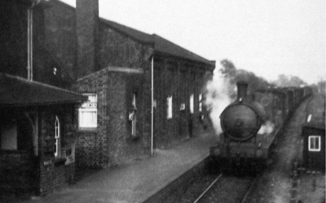 Fleet Railway Station 1925