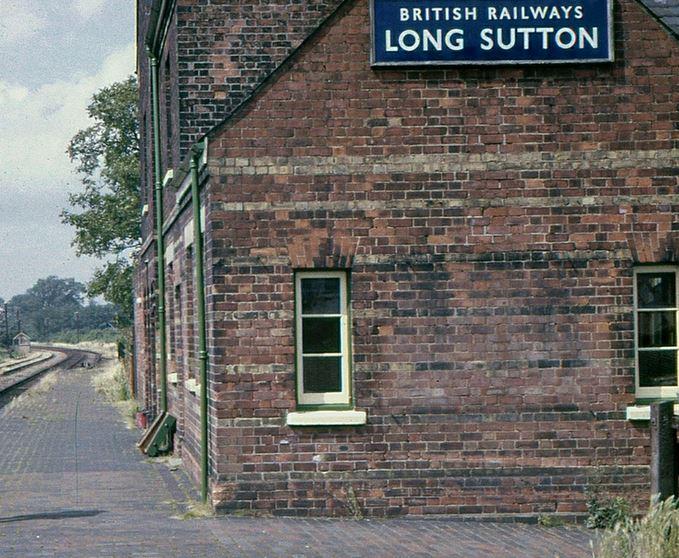 Long Sutton Station building 1965
