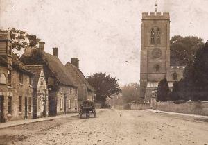 AOS P 1850 the church market deeping Smith & Co. of Bourne Trade Cart