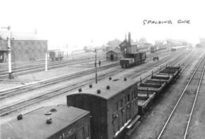 AOS P 2560  spalding station 1910's