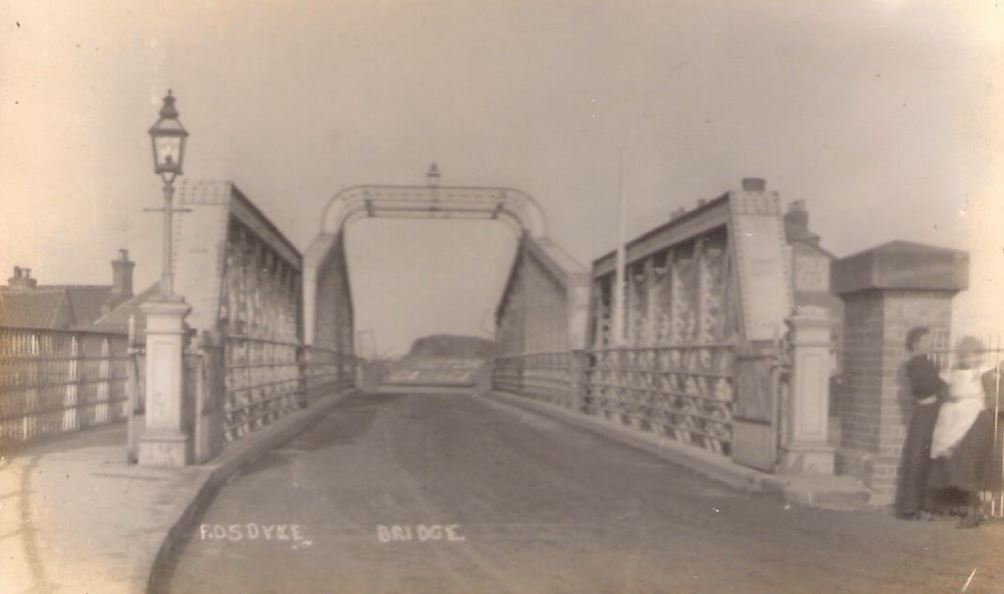 Fosdyke Bridge Postcard 1914-18