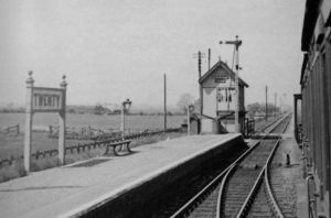 AOS P 2782  twenty railway station 1937, seen from train.