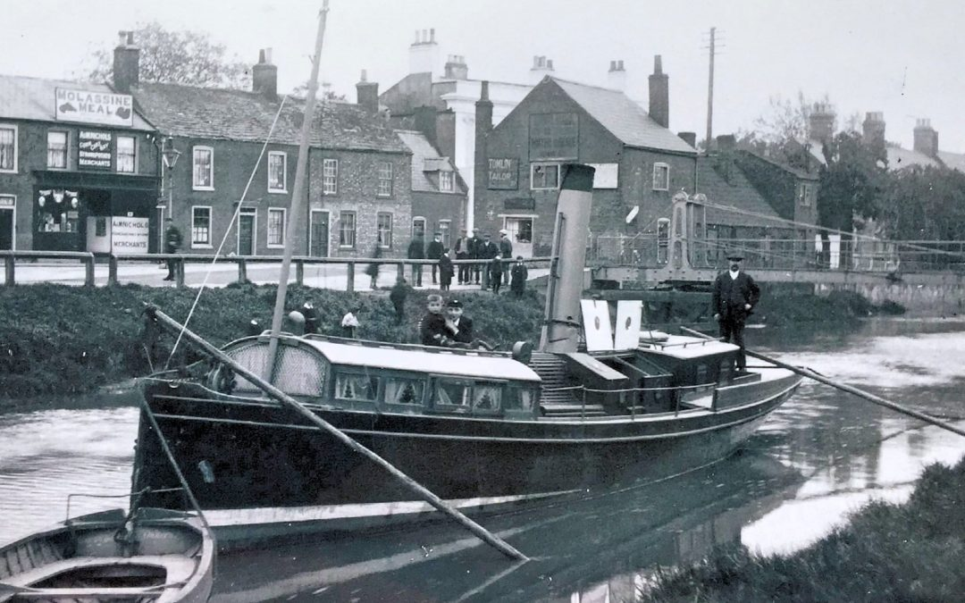 River Welland and High St Spalding early 1900's