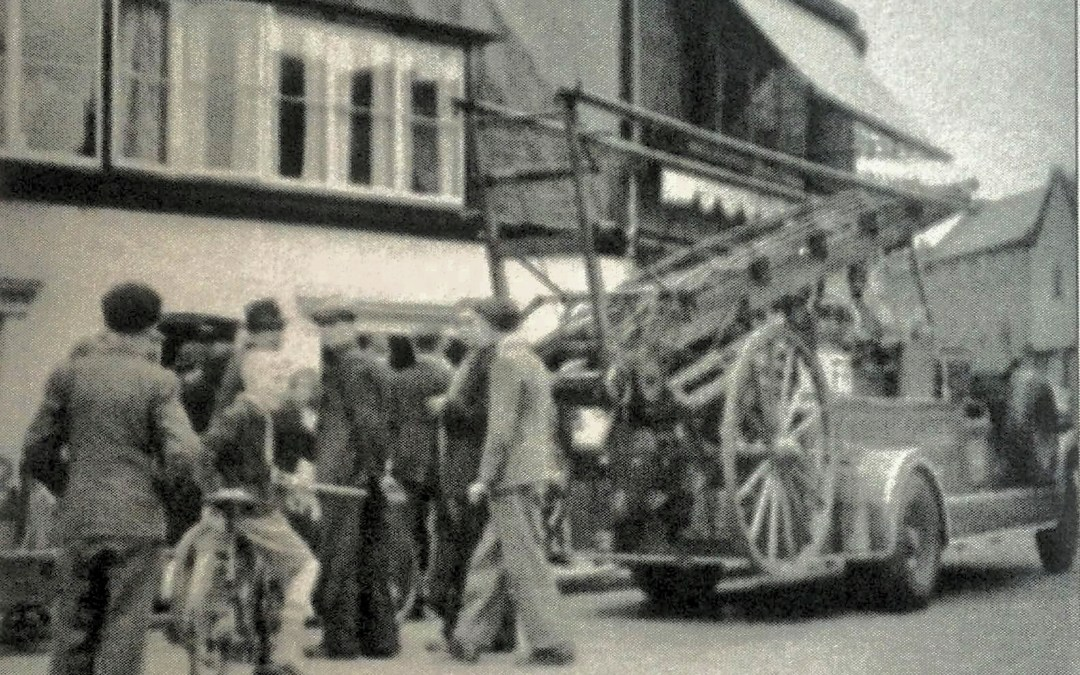 Sheddy's catches fire in 1930's