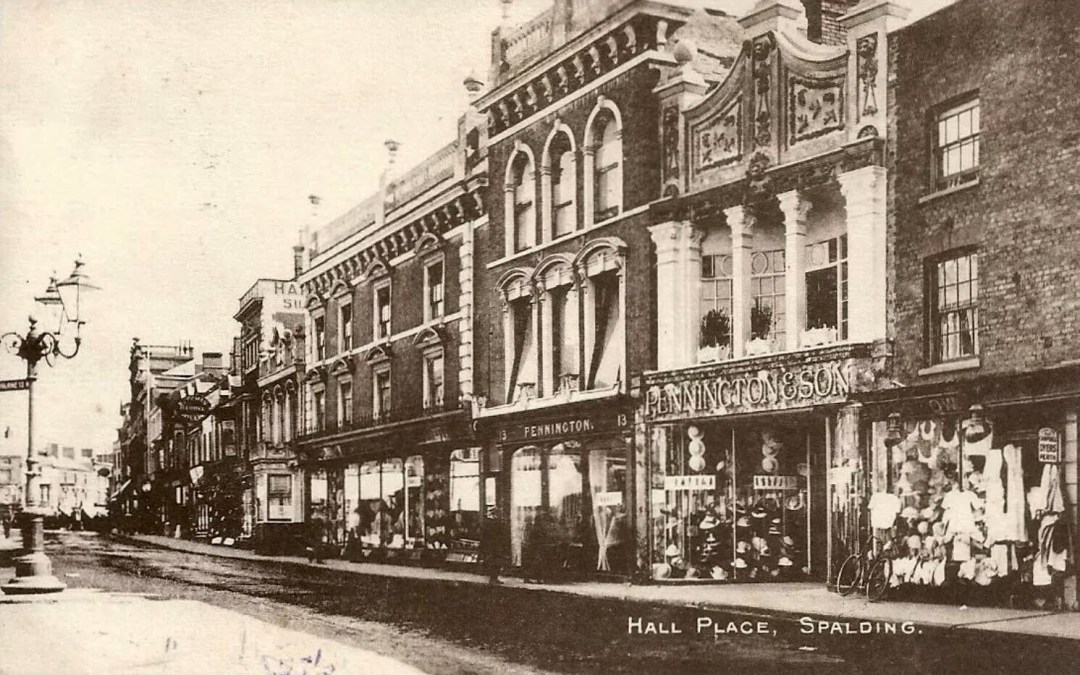 Hall Place and Pennington & Sons