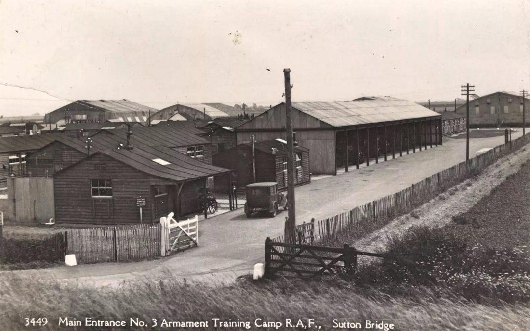 Main Entrance Armament Training Camp Sutton Bridge
