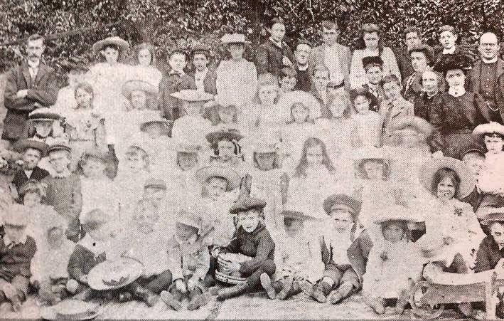 Pupils and Staff at Gosberton Hall School