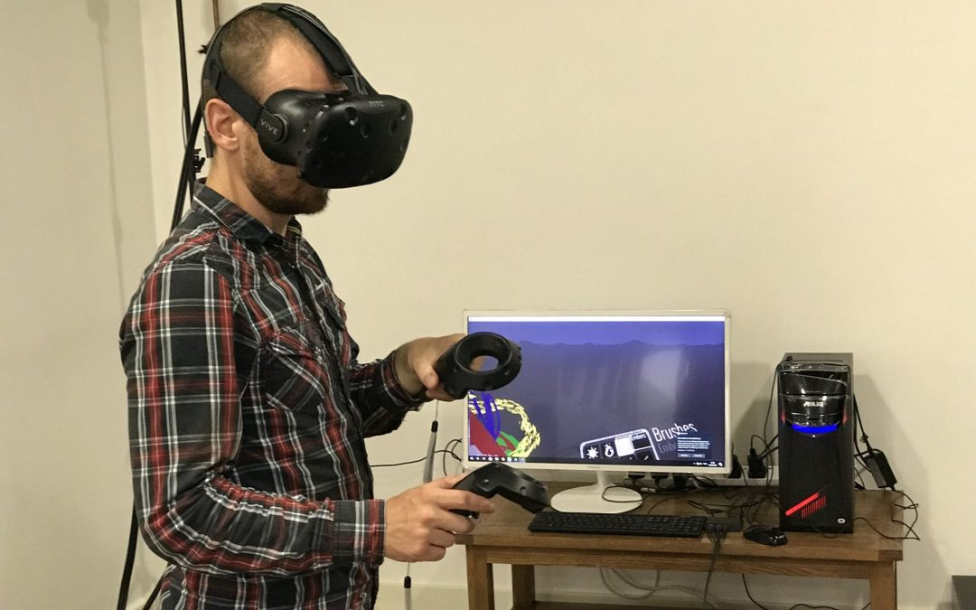 Using Virtual Reality to Create Art