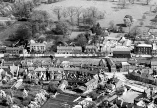 Aerial Photo of Spalding from 1930