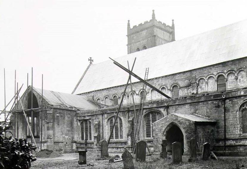Repairs at St Mary's Church – Whaplode