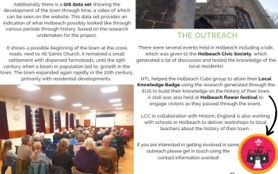 Lincolnshire  Extensive Urban Survey Newsletter