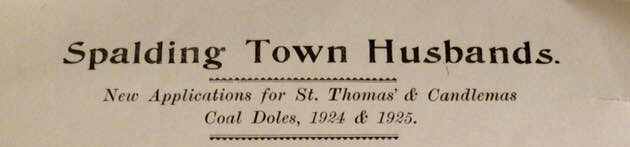 Spalding Town Husbands