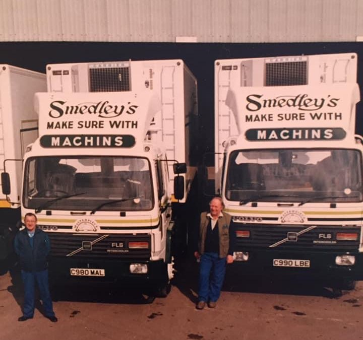 Smedley's delivery vans