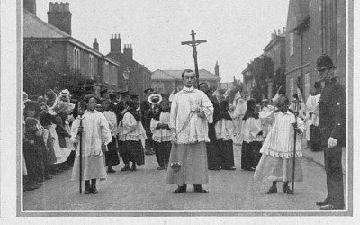 Father Clement Tyck Starts a Pilgrimage