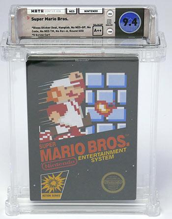 Super Mario Bros. Mint Copy