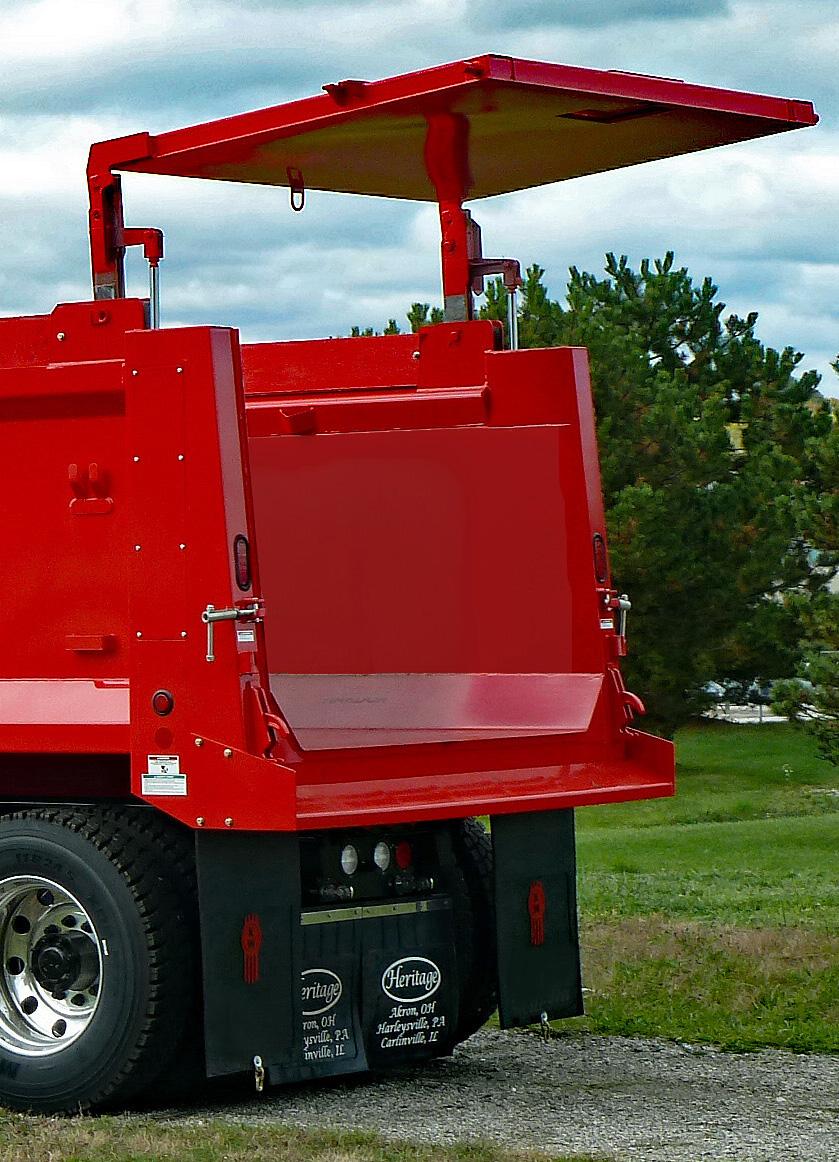Led Backup Lights Wiring Steel Dump Truck Bodies Heritage Truck Equipment
