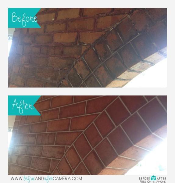 Brickwork Tuckpointing