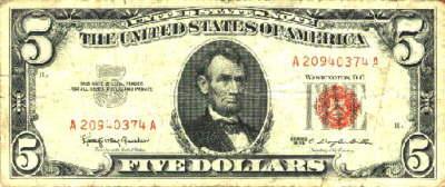 Lincoln Money Greenback JFK Kennedy Edmund D Taylor