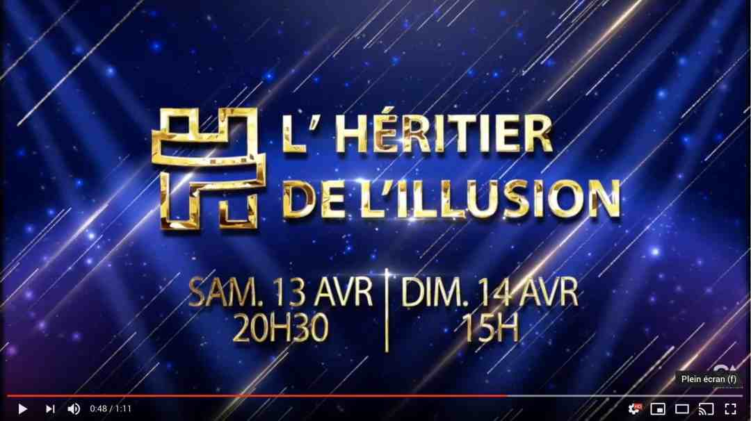 video Héritier de l'Illusion Paris