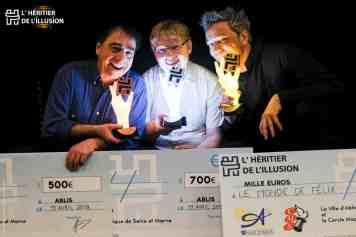 remise de prix concours de magie paris