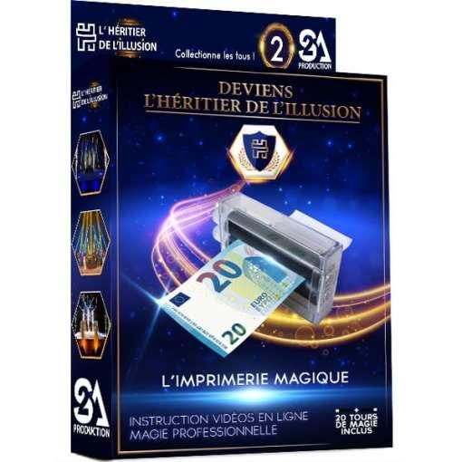 Coffret de magie enfant - l'imprimerie magique | Boîte de magie enfant «Deviens l'Héritier de l'Illusion» N°2 - S2A Production