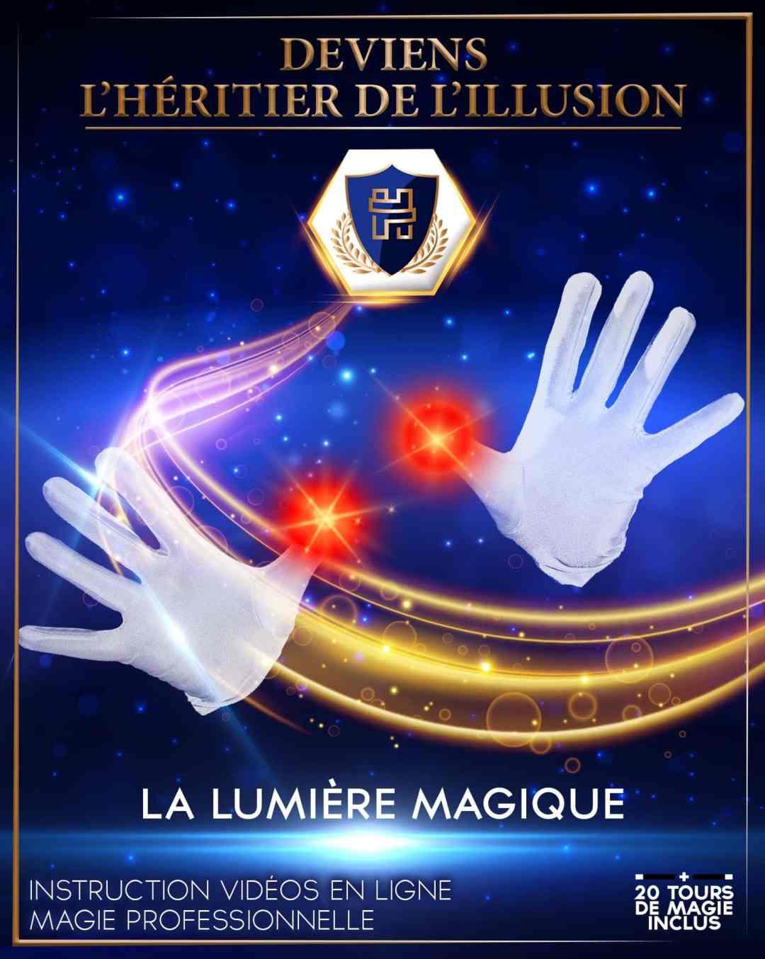 Boite de magie enfant n°3 Lumière Magique - Pouce lumineux D-Light