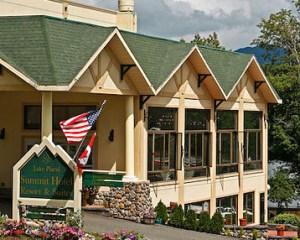 Lake Placid Summit Hotel and Suites, July 2009. photo ©Nancie Battaglia