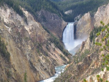 Lower falls yellowstone 2