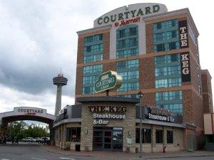 Niagara falls Courtyard Hotel by Marriott