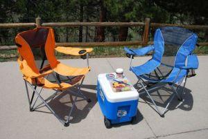 koelbox en stoelen