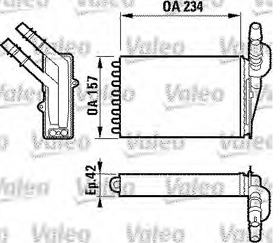 Radiator gretja RENAULT Clio II, III 98- ― Avtodeli Herkules