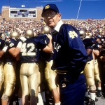Coach Lou Holtz [Photo: Jonathan Daniel/Allsport]