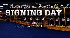 Notre Dame National Signing Day — LIVE!