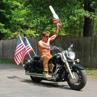 Chainsaw Motorcycle