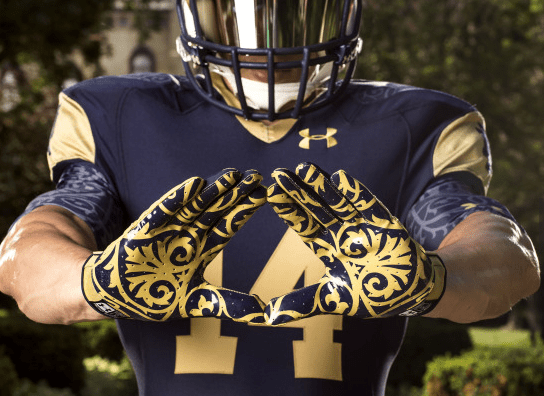 Shamrock Series 2014 Glove Detail