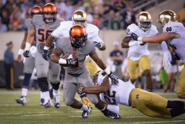 Syracuse Coach: Let's Play ND In Dome, Not N.J.