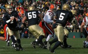 Notre Dame-Syracuse, 2008 at Notre Dame Stadium.