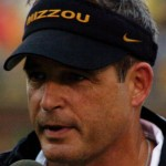 """""""Gary-Pinkel-Mizzou-vs-Nevada-Sept-13-08"""" by Jim Ross; cropped by User:Blueag9. - http://flickr.com/photos/eagle102/2981891872. Licensed under CC BY 2.0 via Wikimedia Commons."""