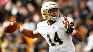 DeShone Kizer's Year (In Five Charts)