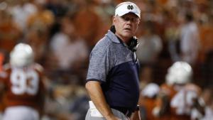 Texas Loss Marks Beginning of Kelly's End At ND