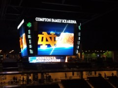 Notre Dame Hockey: A Rematch Against The Golden Gophers