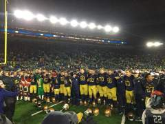 Notre Dame and the Citrus Bowl…Heck Yeah!