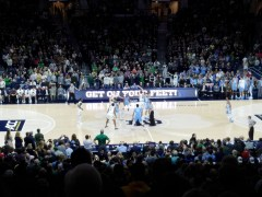 Notre Dame Men's Basketball: A Team Performance Comes Up Short