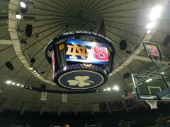 Notre Dame Women's Basketball: Young Steps Up To Send Off Seniors
