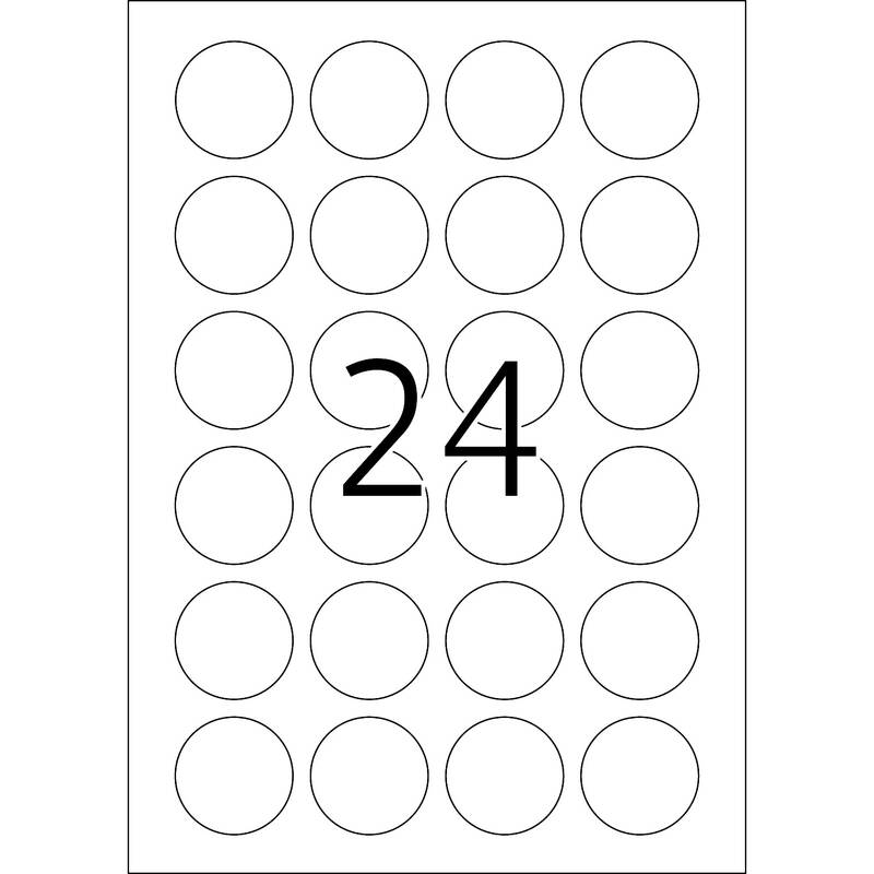 Security/seal labels A4, 4234