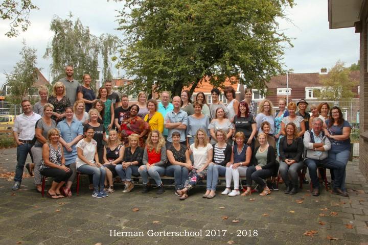Teamfoto schooljaar 2017-2018