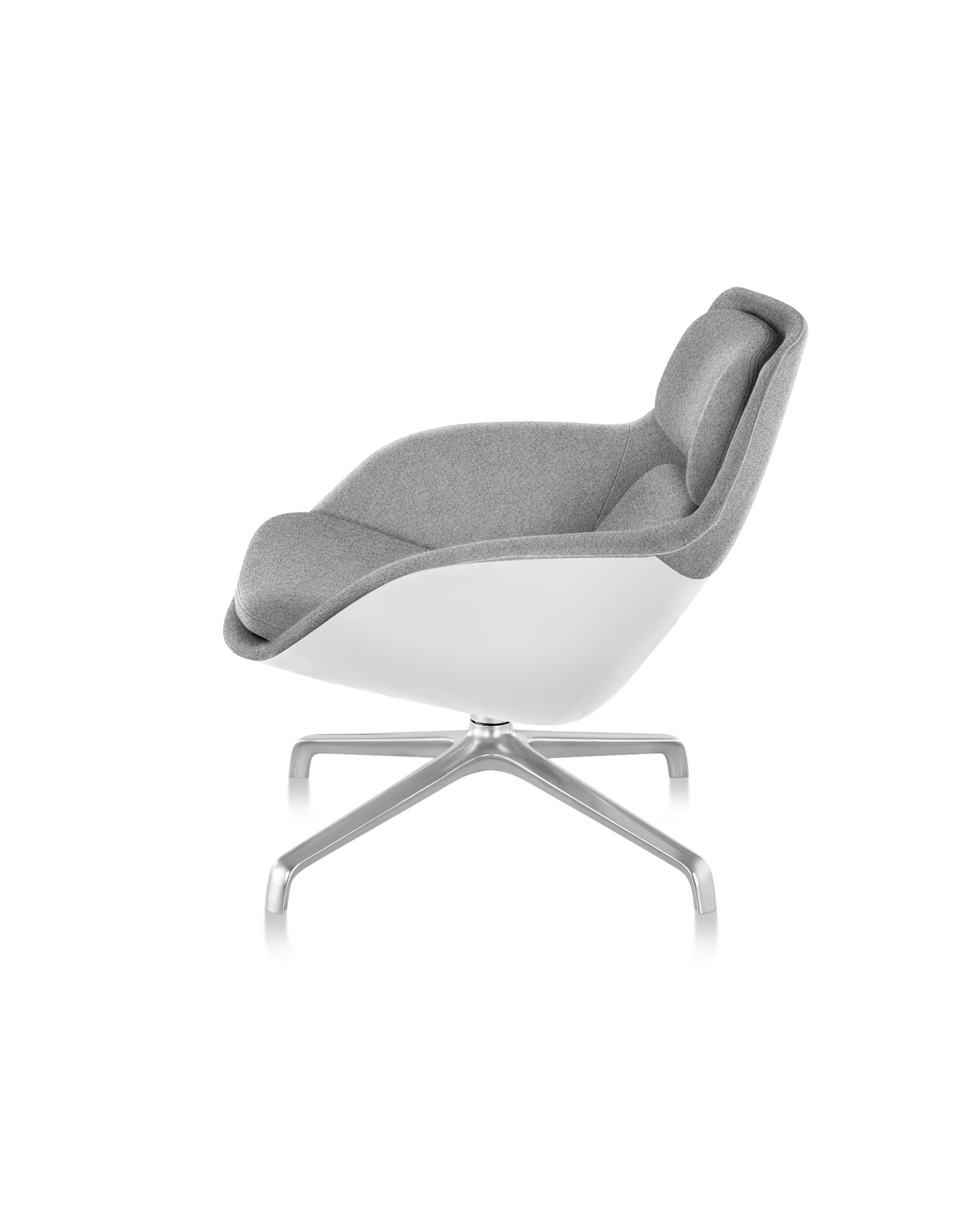 swivel chair em portugues glass pub table and chairs striad product images lounge seating herman miller low back four star base