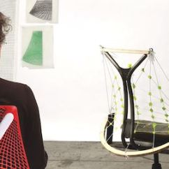 Chair Design Bangkok Round Cushion Sayl Office Chairs Herman Miller Designer Yves Behar Examines A Model Of The