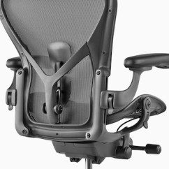 Posturefit Chair Ergonomic With No Wheels Herman Miller Launches New Aeron A Black Office Viewed From The Rear And Showing Back Support Sl